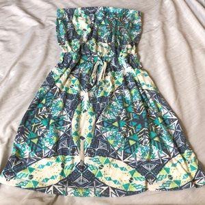 Mossimo strapless dress
